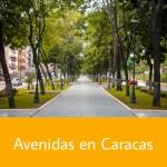Avenidas en Caracas