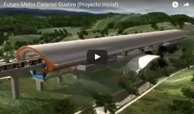 Vídeo del Metro Guarenas Guatire ¡No puedes dejar de verlo!