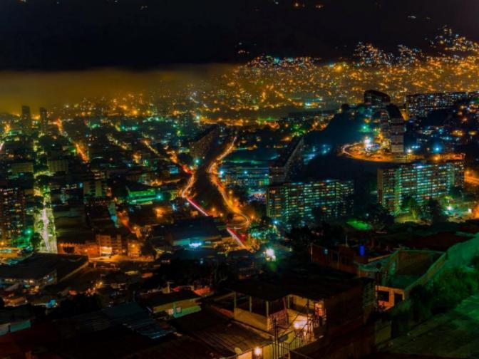 Fotos de Caracas de noche III