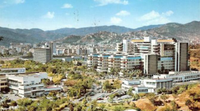 Fotos y vídeo de Caracas en los años 70