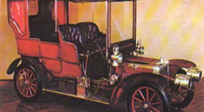 ¿Sabías que…? En 1904 llegó a Caracas el primer automóvil