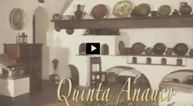 Hermoso vídeo de la Quinta Anauco