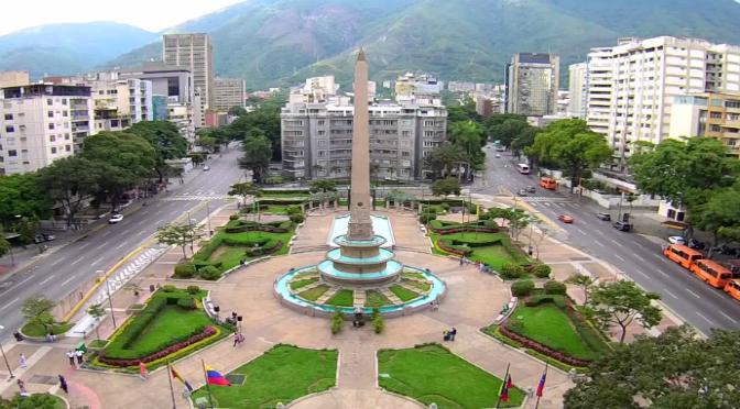 Los 5 obeliscos en Caracas